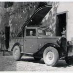 Il Bisnonno Dante con il suo camion - Camaldoli Casentino Toscana