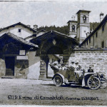 Turisti all' Eremo di Camaldoli- Camaldoli Casentino Toscana