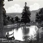 Il Bisnonno Dante si rilassa al laghetto di Metaleto - Camaldoli Casentino Toscana